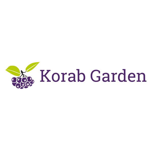 Korab-garden logo organicity