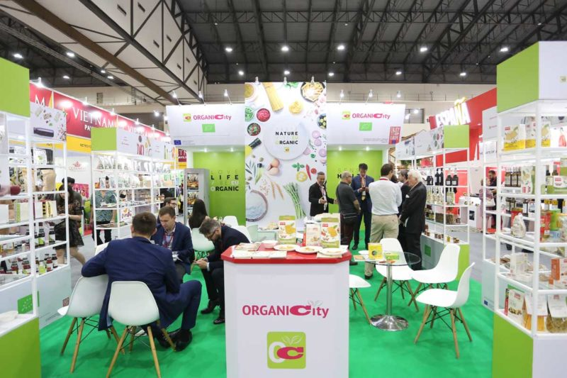 organicity project at thaifex 2019