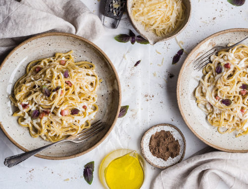 The original and organic Carbonara recipe