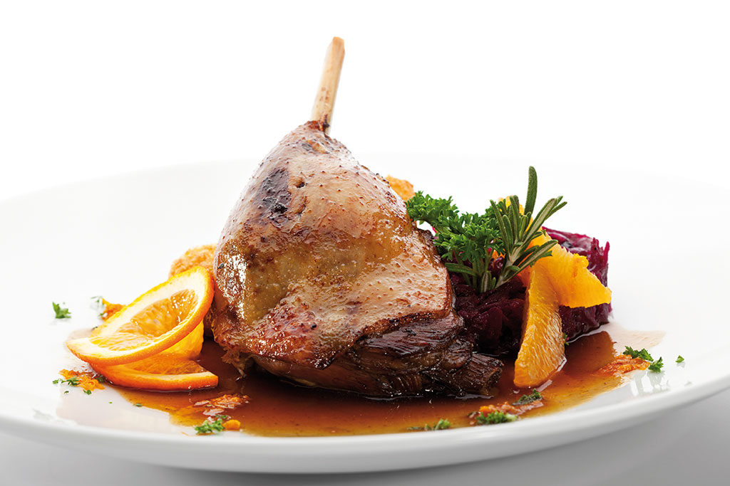 organic roasted goose