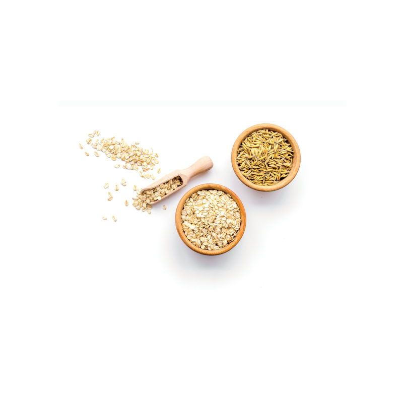 organic cereals and legumes