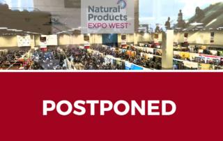 expo west 2020 postponed