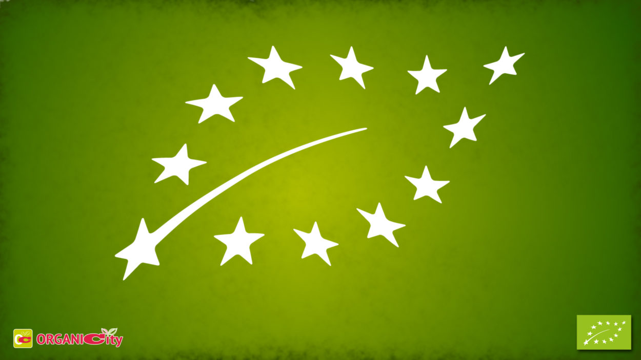 the european organic logo by organicity